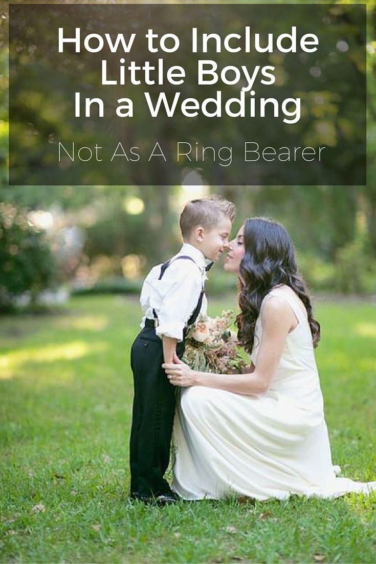 Include Little Boys In Wedding: Wedding Band Little Boy At Reisefeber.org