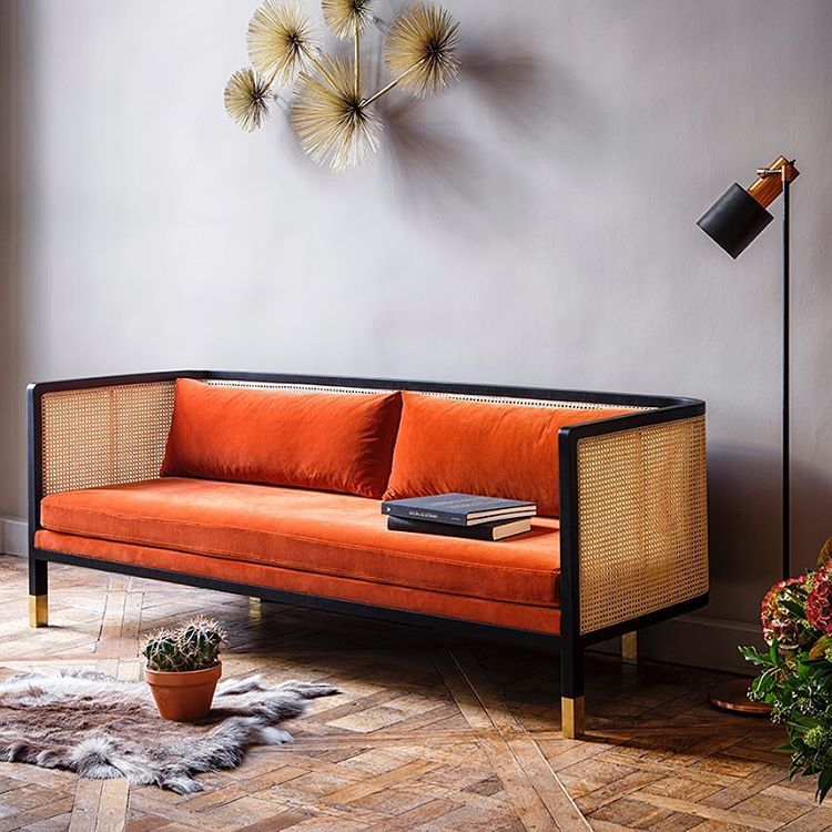 red edition brocante chic en 2019 canap velours. Black Bedroom Furniture Sets. Home Design Ideas