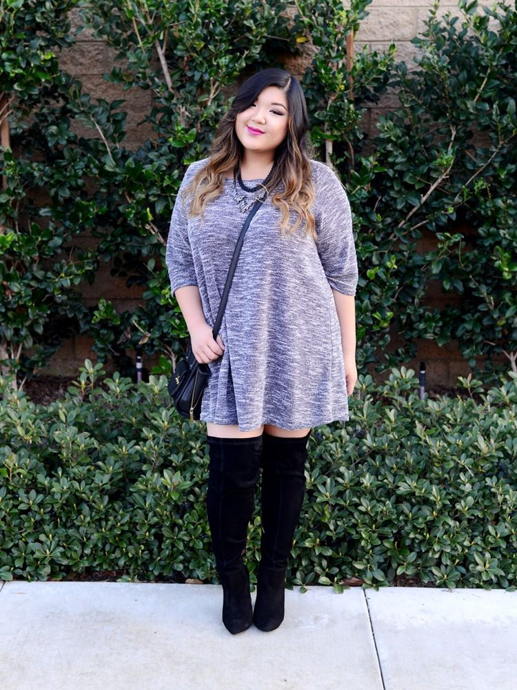 14 Amazing Styling Tips For Curvy Girls | Ankle socks, High boots ...
