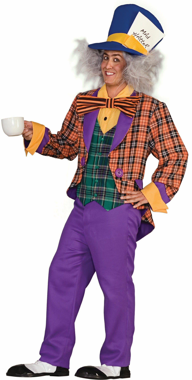 Plaid Mad Hatter Adult Costume | Costura