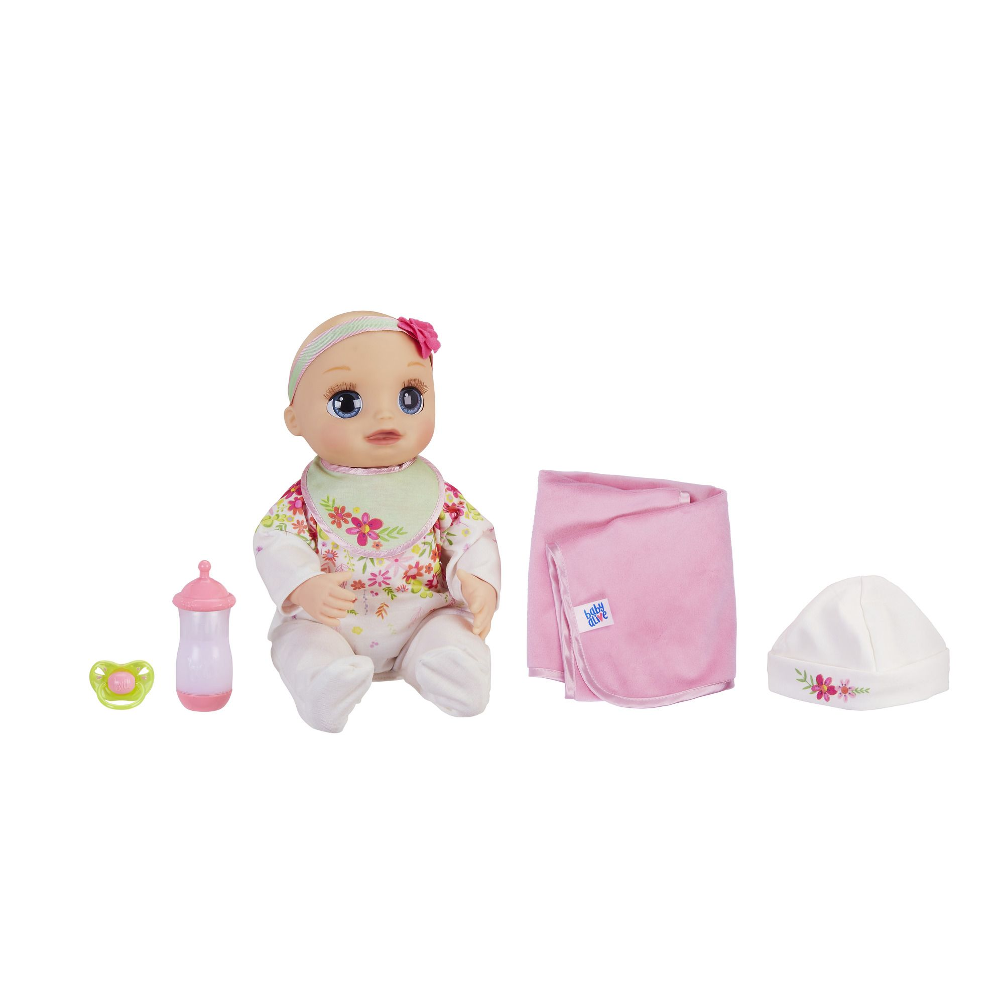 Baby Alive Real As Can Be Baby Blonde Sculpted Hair Multi Color Baby Alive Baby Alive Dolls Realistic Baby Dolls