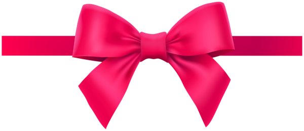 Bow With Ribbon Pink Png Deco Clipart Ribbon Bows Bow Clipart Bows