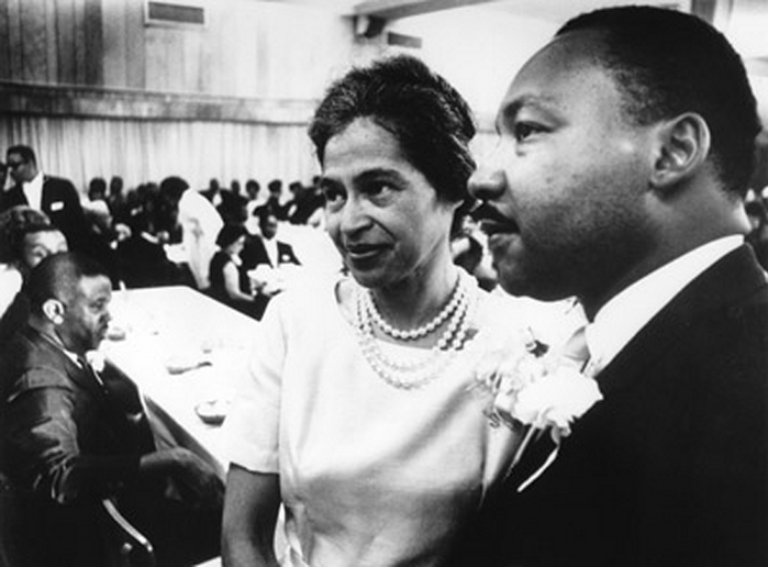 Twitter / HistoryInPics: Rosa Parks and Martin Luther ...