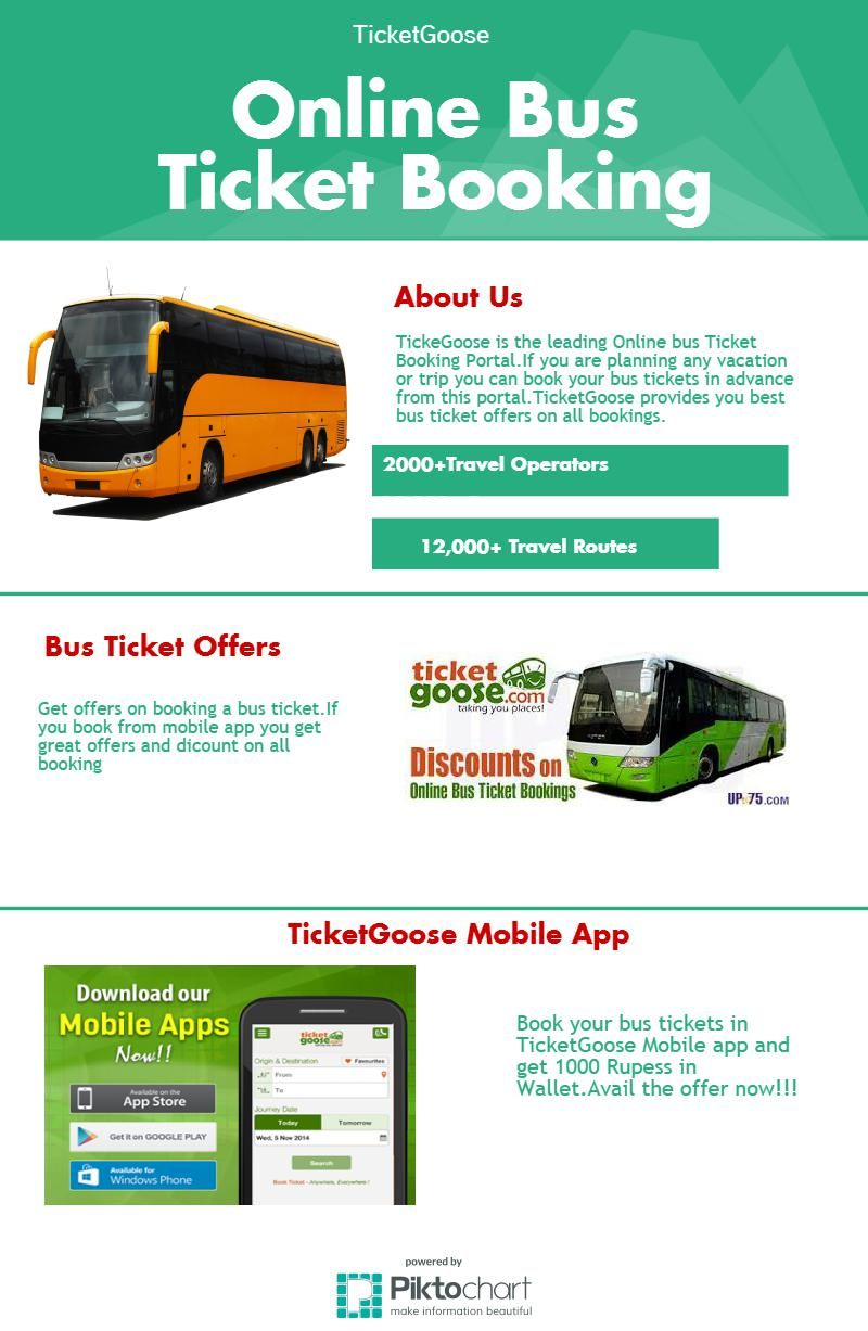 Want To Book Online Bus Ticket Then Ticket Goose Is A Easy Way To