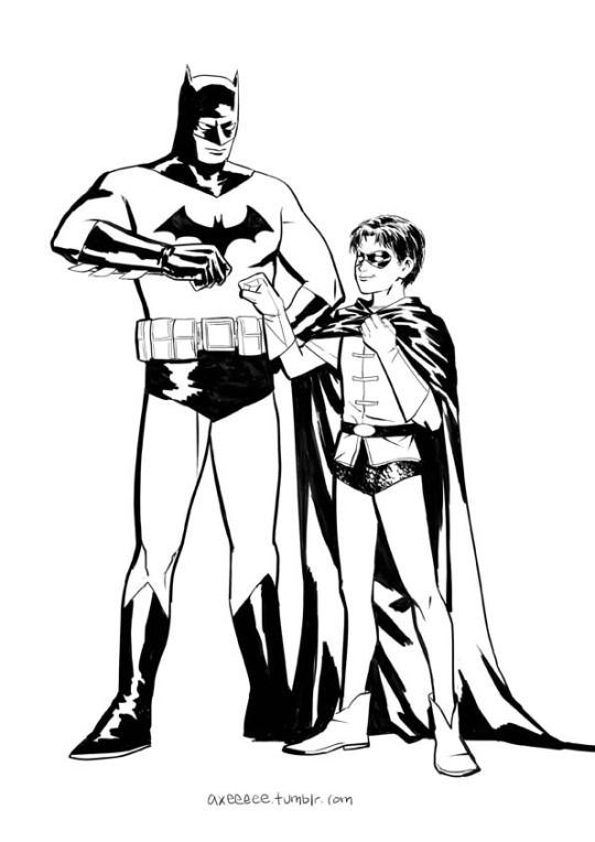 Batman and Robin by axeeee | things I find awesome | Pinterest ...