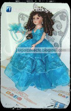 Precio de vestidos de xv azul turquesa
