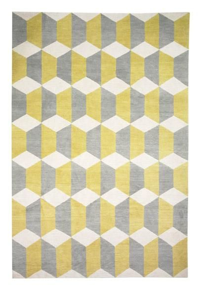 Chiesa Yellow Rug By Suzanne Sharp Featured On The Rug Company