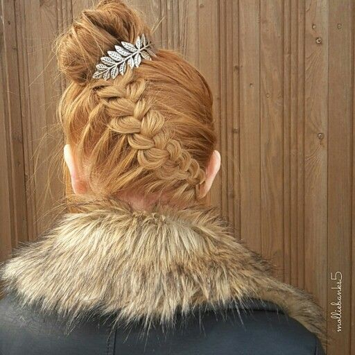 Upside Down Braided Bun With Bunpin From @mykitsch