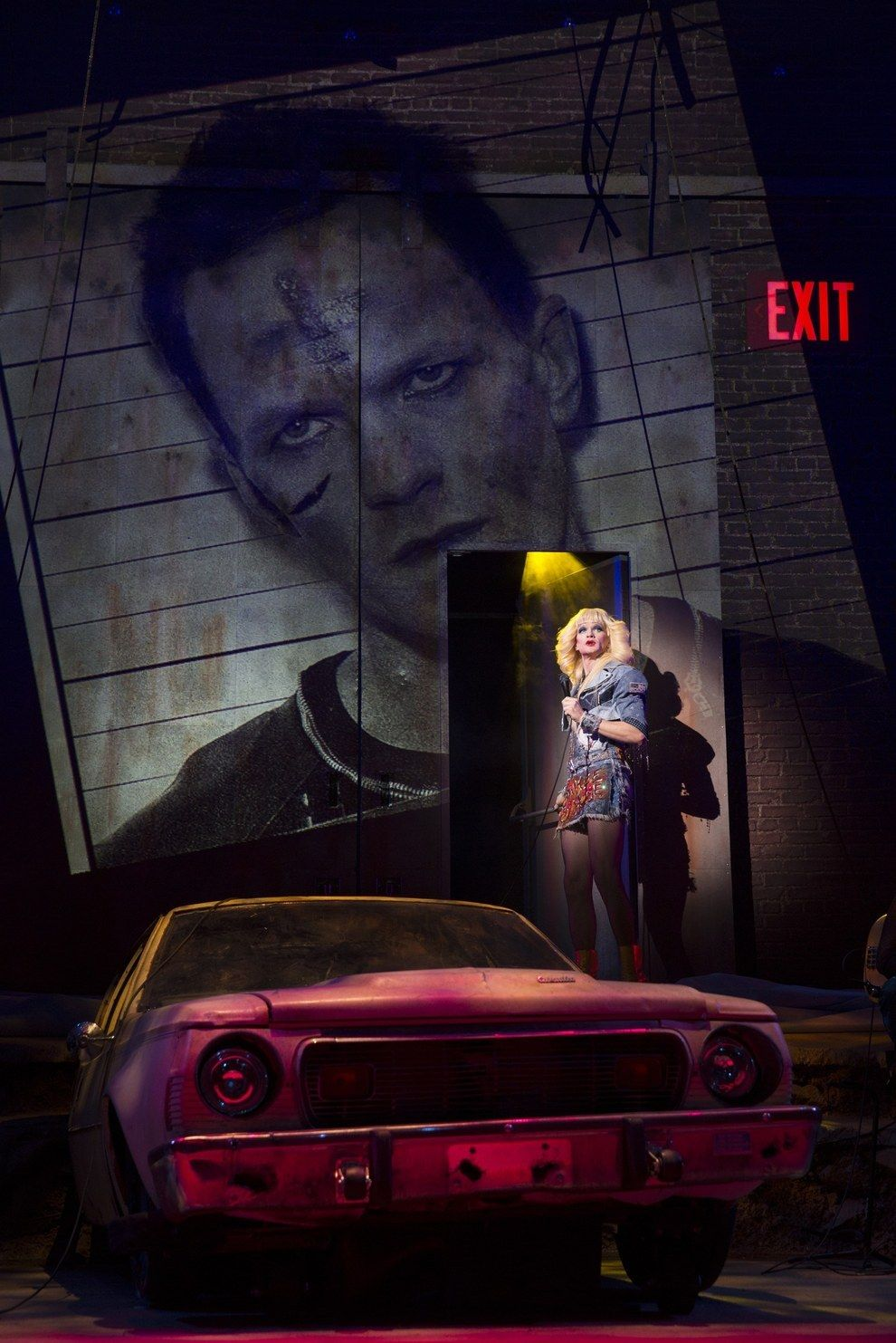"""15 Photos Of Neil Patrick Harris In """"Hedwig And The Angry"""