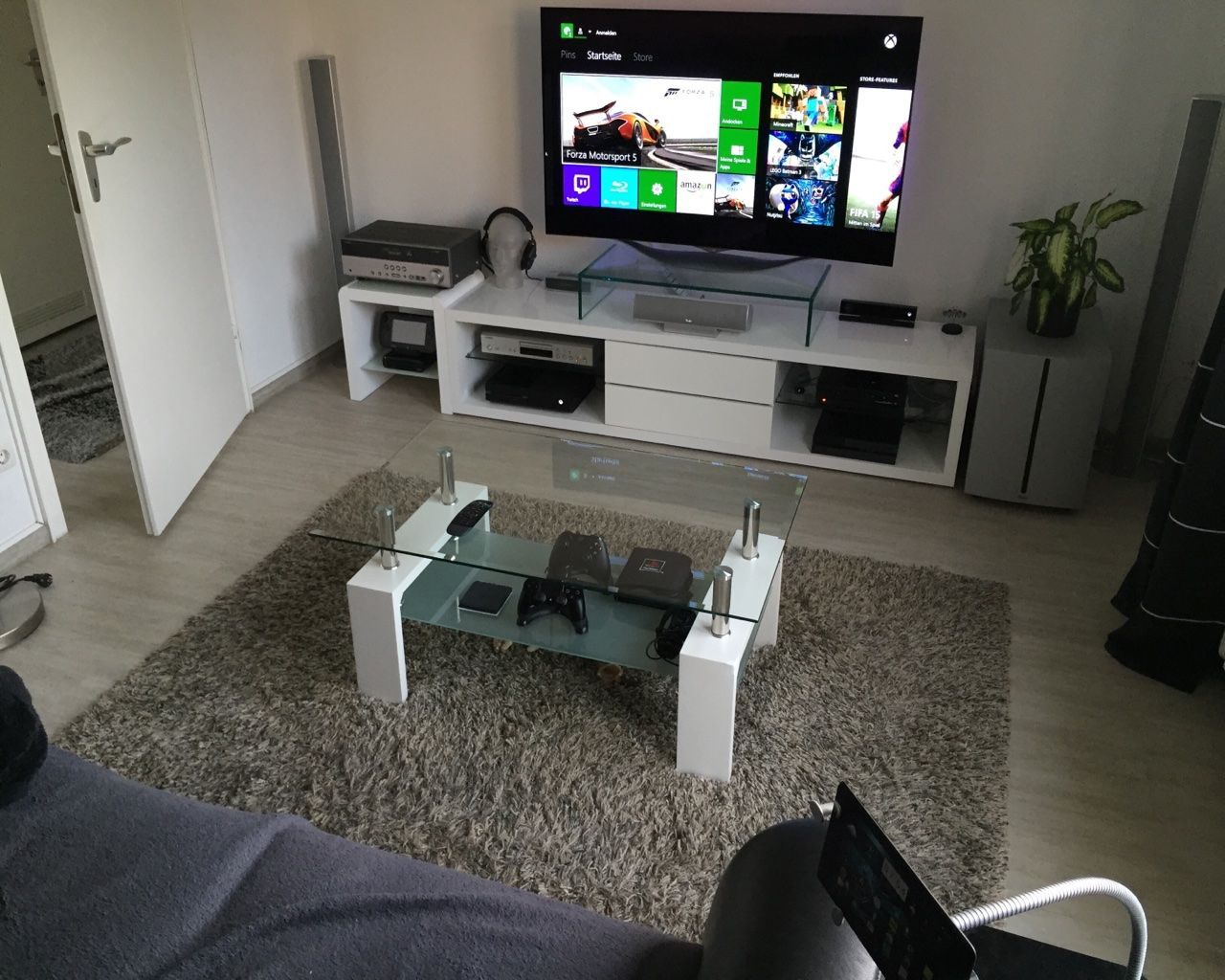 Show Us Your Gaming Setup 2015 Edition Living Room Setup Room Setup Game Room