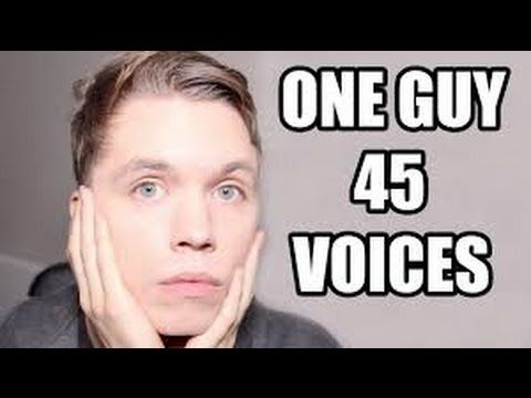One guy 45 voices with original songs Roomie vs singers