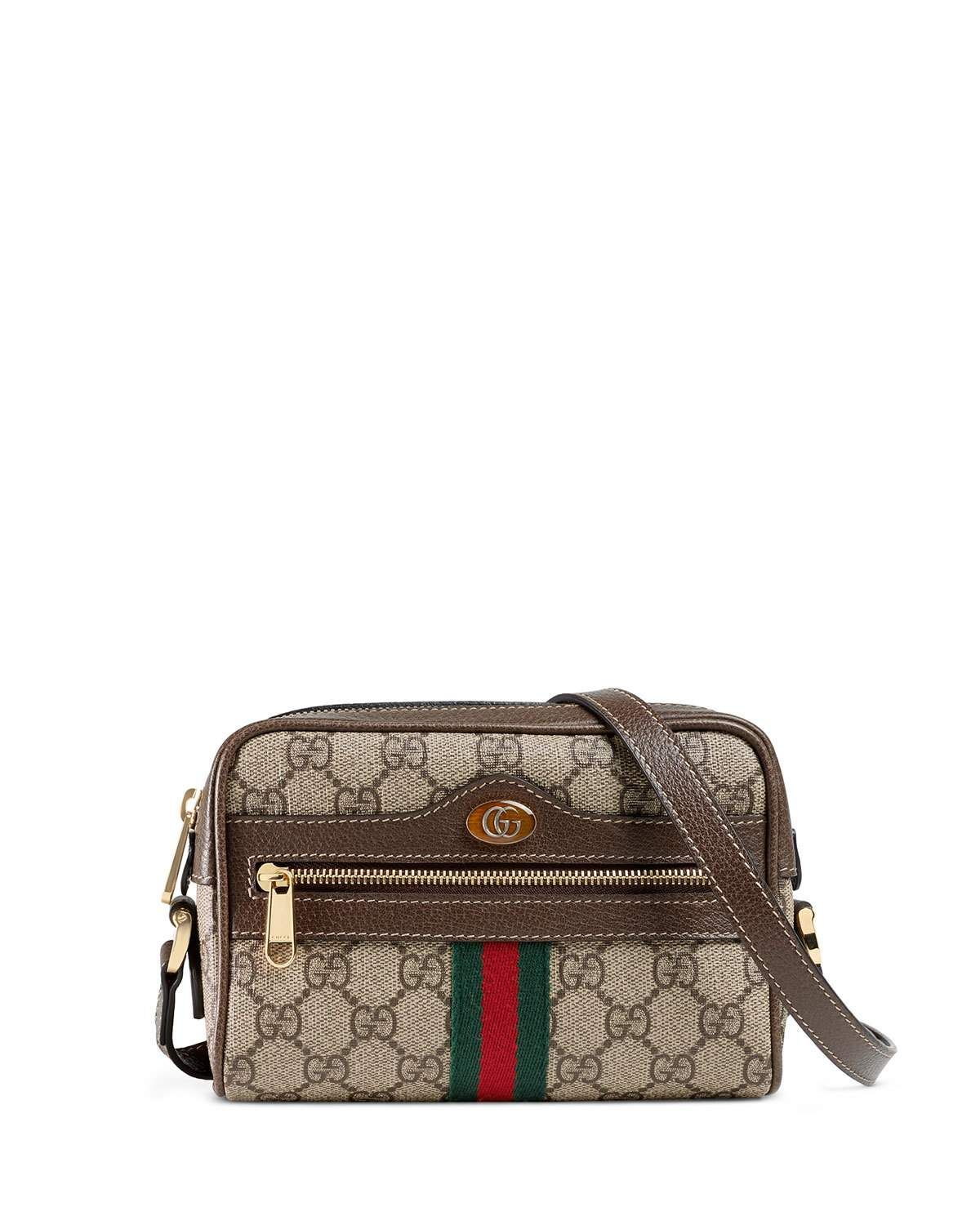 75ec337d003 Gucci Ophidia Small GG Supreme Crossbody Bag