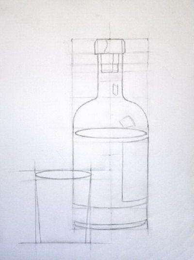 13 Encuadre Encaje Y Proporcion Valero Dibujo De Encaje Ejercicios De Dibujo Dibujar Objetos