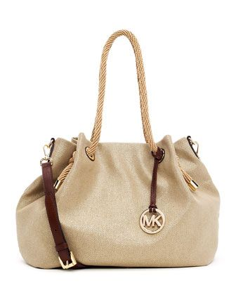 c22a4894de5c0d ... promo code for large marina canvas tote bag with strap by michael  michael kors at neiman