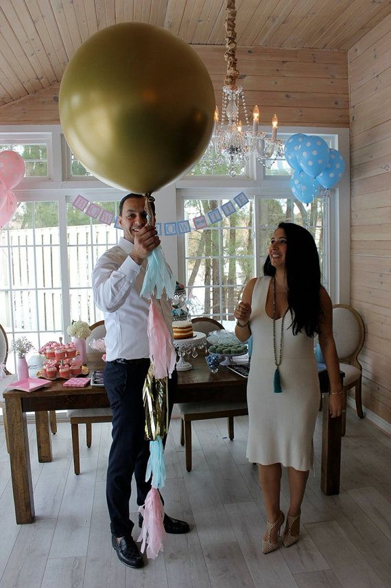 Gender Reveal Balloons Gender Reveal Balloons Silver Gender Reveal Baby Reveal Party