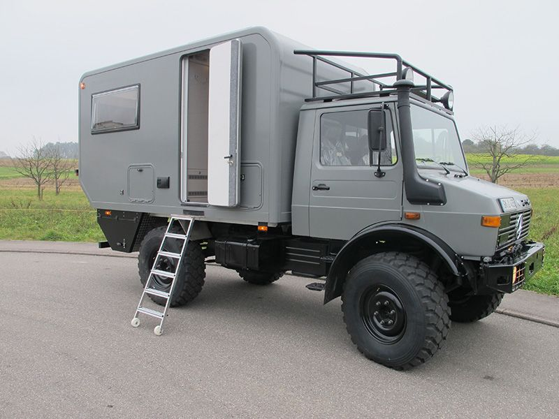 unimog 435 unimog expedition truck truck camper. Black Bedroom Furniture Sets. Home Design Ideas