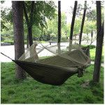 Hammock With Zippered Mosquito Net