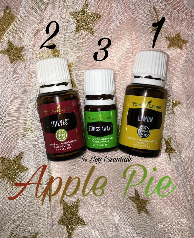 3 Drops Each Lemon And Stress Away 2 Drops Thieves Living