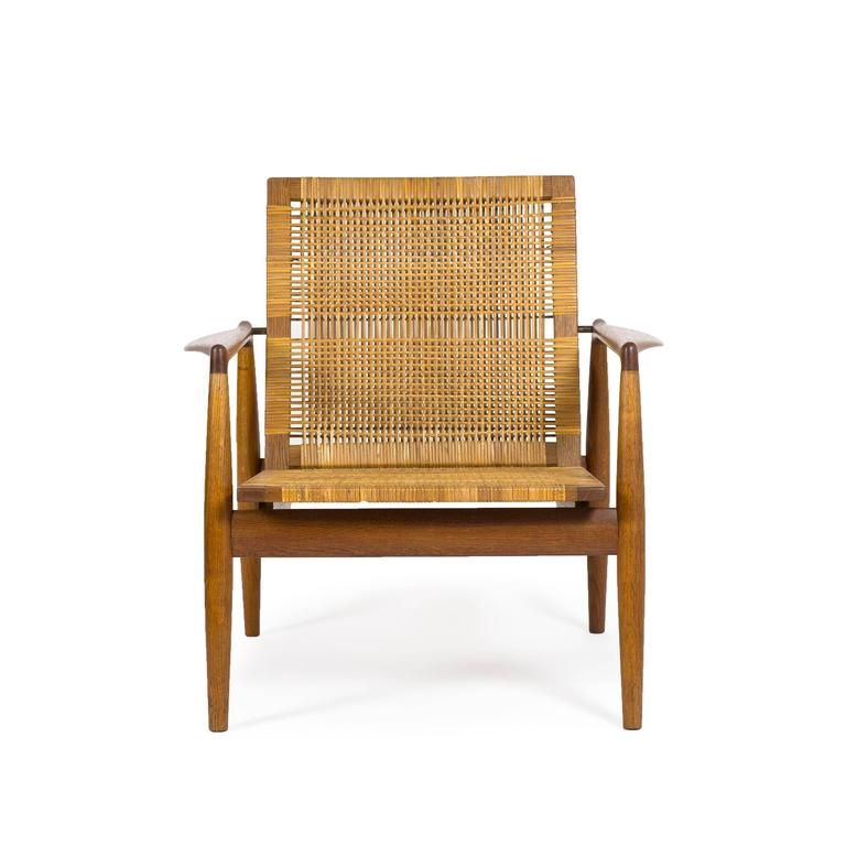 Finn Juhl SW-96 Easy Chair for Soren Willadsen, circa 1954