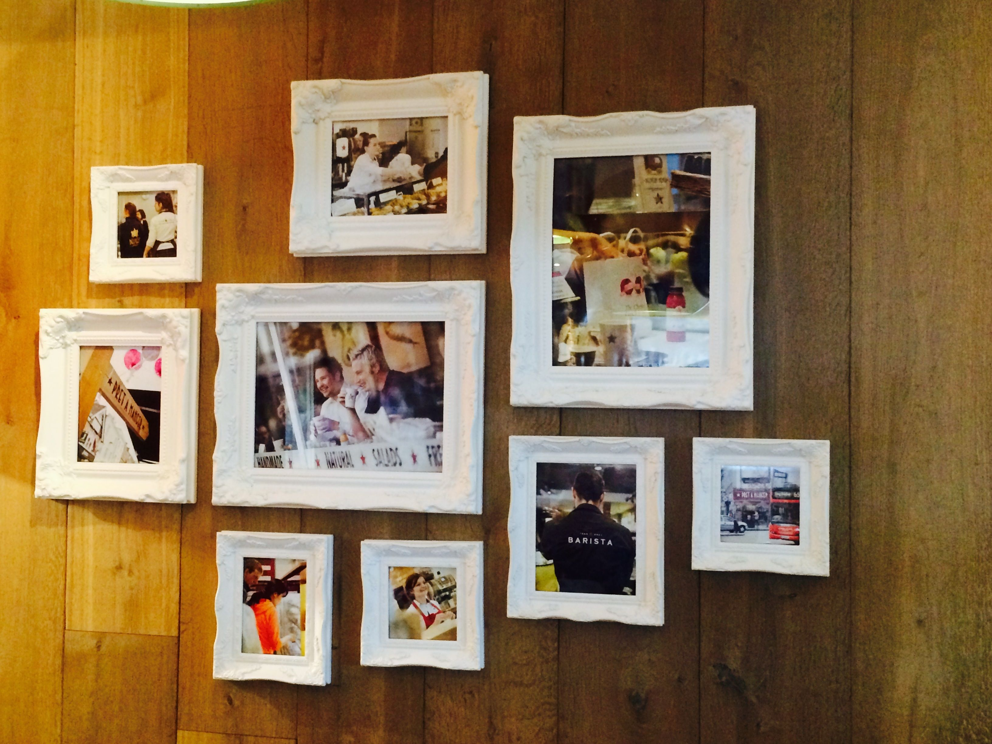 Our fabulous ornate frames make up this beautifully displayed ...