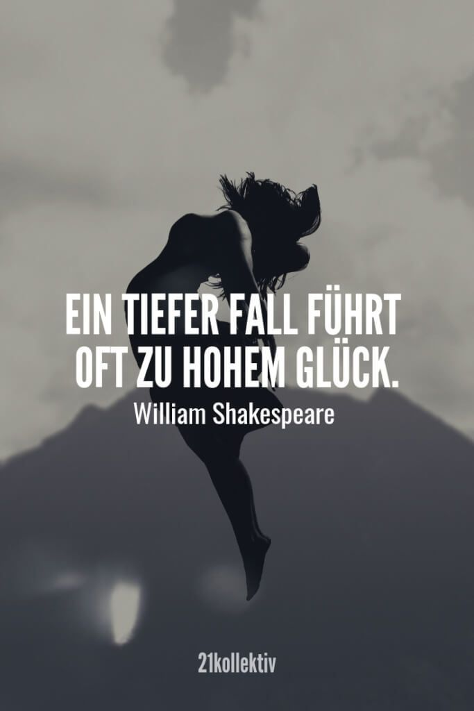 A deep fall often leads to high luck. - William Shakespeare | Find and ... - #deep #fall #find #High #leads #luck #Shakespeare #William