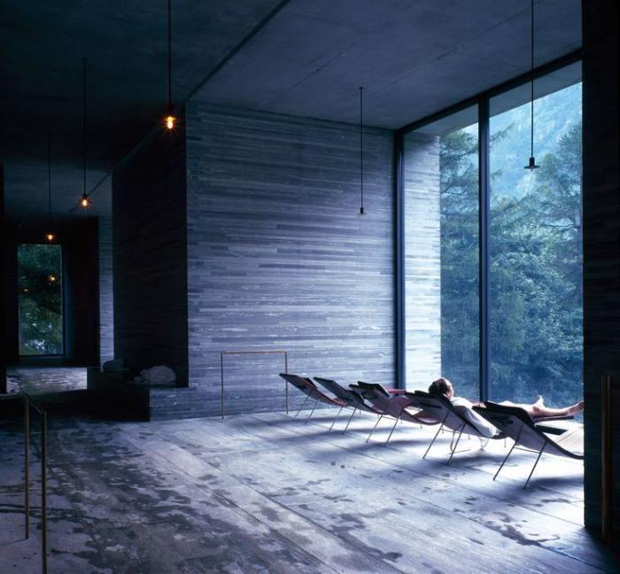 Thermes de spa contemporains - eaux curatives et jolie architecture ...