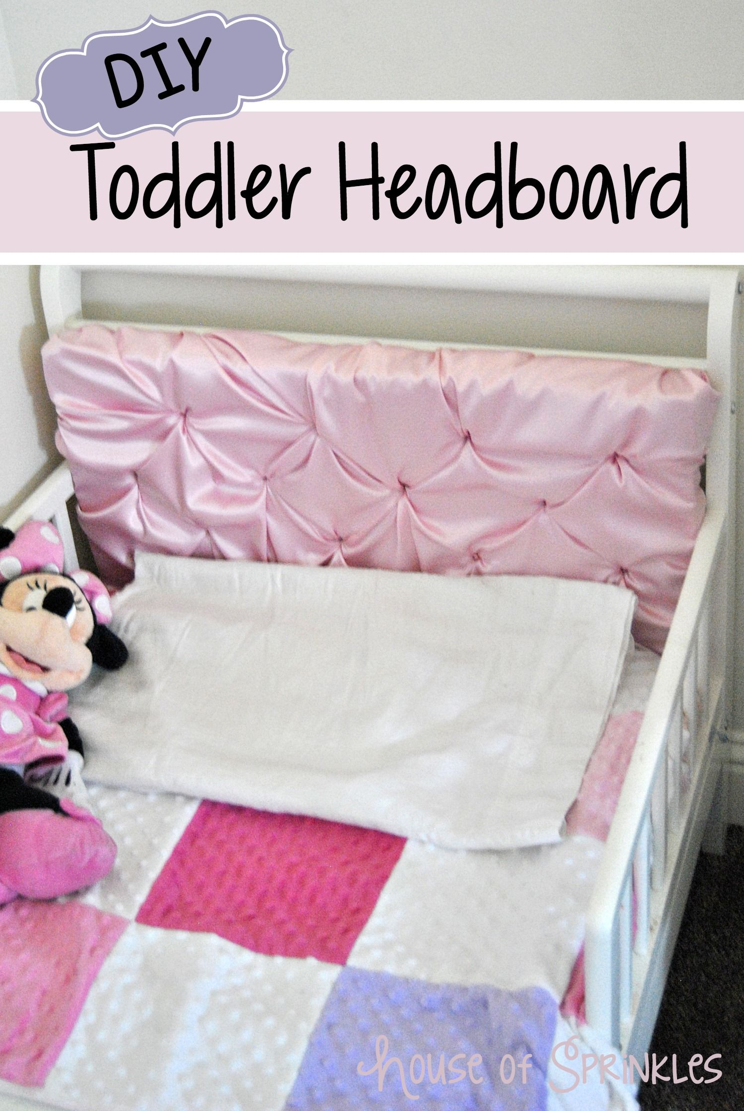 princess little pink toddler storage flower white with girl shaped frame headboard for rug bedding baby daisy bed girls theme headboards