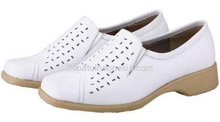 Sepatu Wanita Jkc 16 229 Kulit Putih 36 40 Rp 280 800