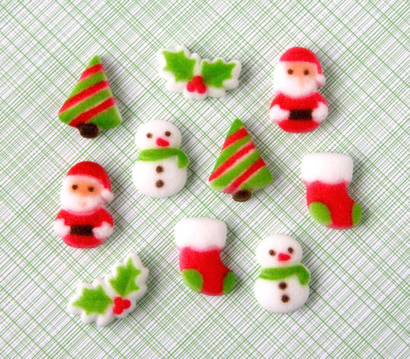 sugar decorations for cupcakes