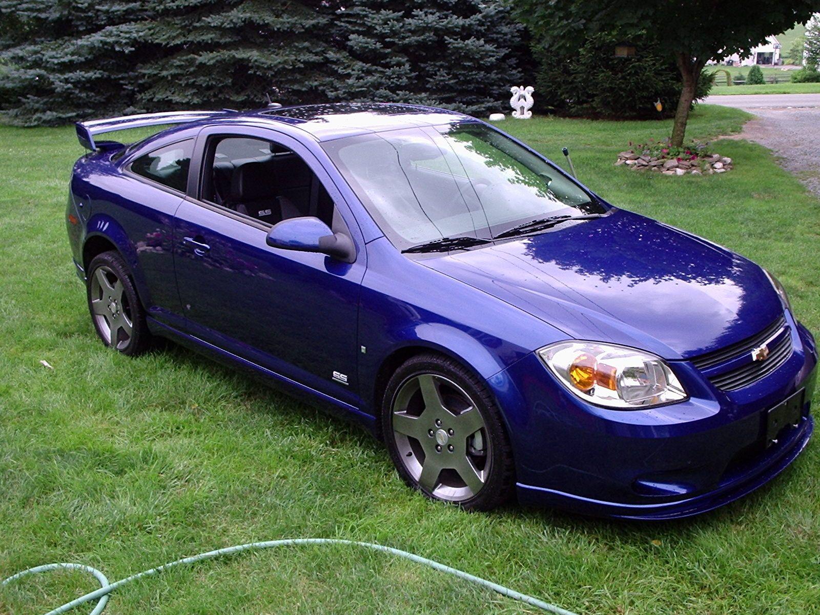 2008 cobalt ss specs - Blue Chevrolet
