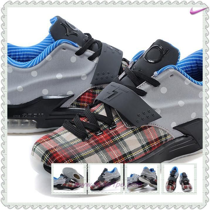 "scarpe eleganti KDVII-032 ""Canvas"" Rosso università/Nero-Bianco Nike KD 7 EXT Uomo"