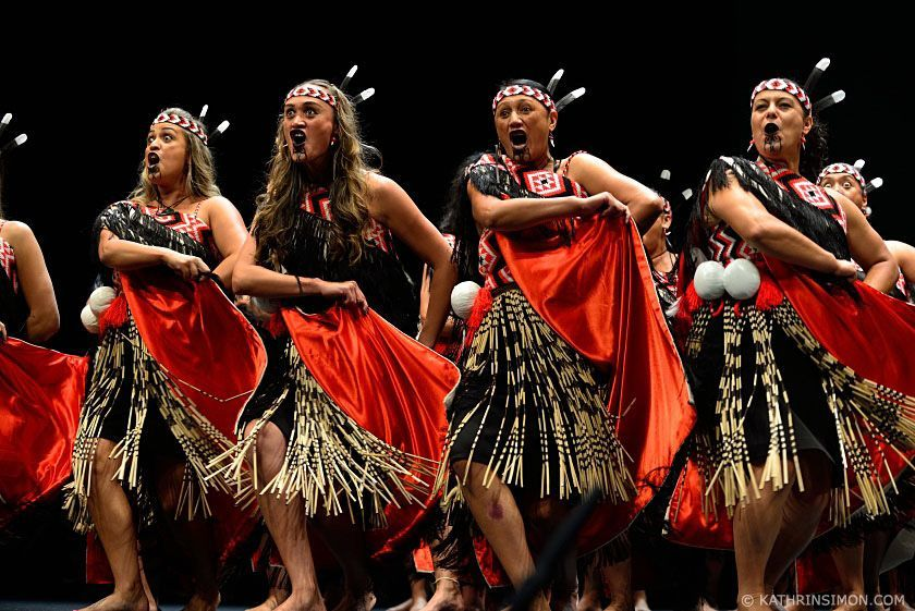 Maori Dance: Tāmaki Makaurau Senior Kapa Haka Regionals New Zealand
