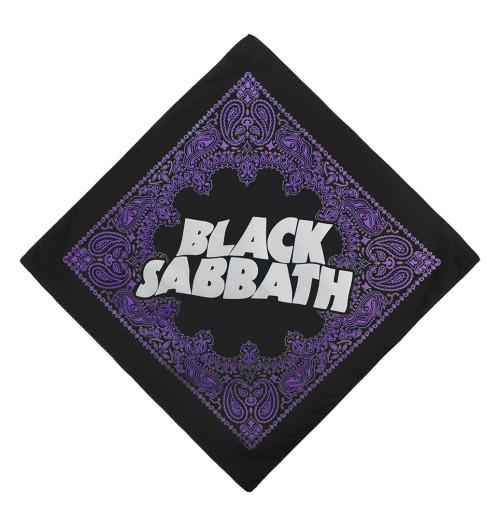 Black Sabbath Logo Bandana Black Sabbath Rolling Stones Beatles