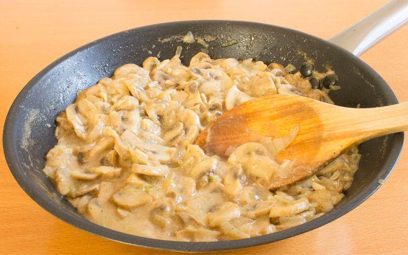 Receta saludable de salsa de champi ones baja en calor as - Comidas sanas y bajas en calorias ...
