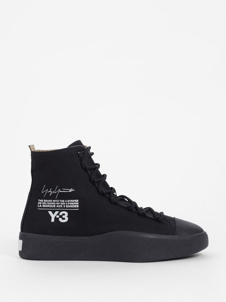 ae6526e8d Y-3 Bashyo Sneaker in Black  men  shoes  black  footwear  shoe