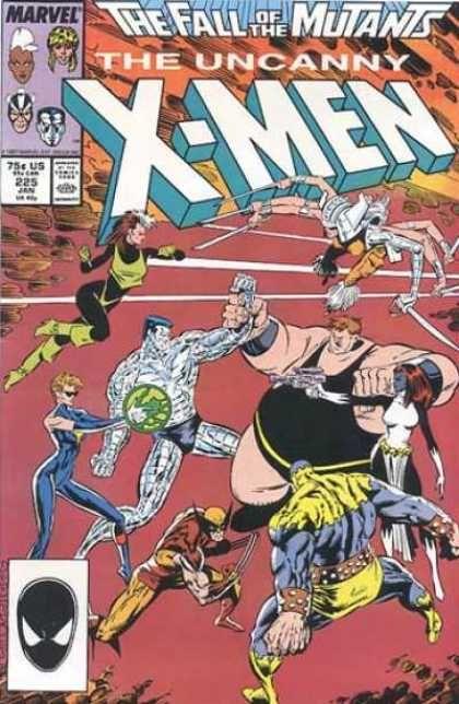 Uncanny X Men Covers 200 249 Marvel Comics Covers Marvel Comics The Uncanny