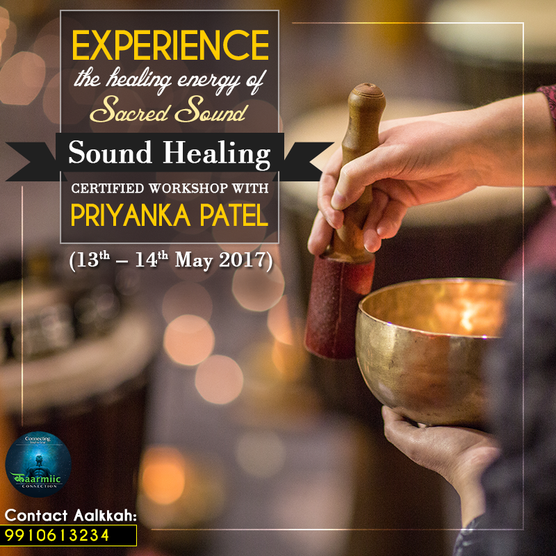 Come And Join Us For Our 2 Days Sound Healing Certified Workshop