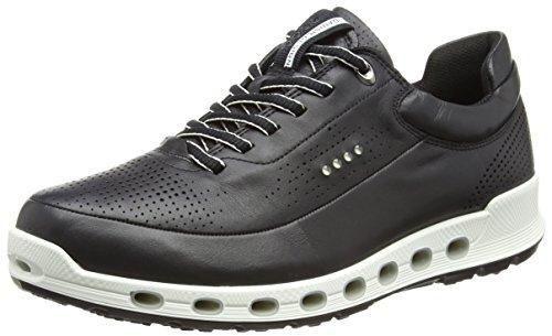 Ecco Cool 2.0, Zapatillas Para Hombre, Negro (1001black), 43 EU