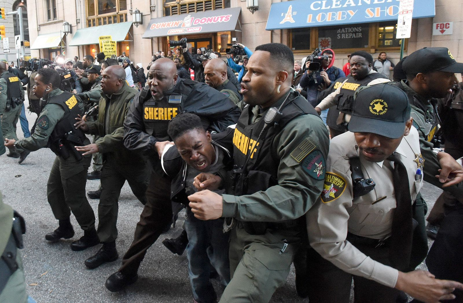 Why is baltimore so black