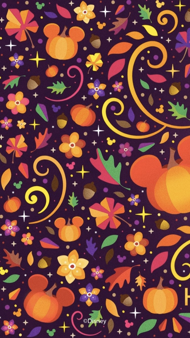 Mickey Mouse Pumpking Wallpaper Disney Halloween Halloween Wallpaper Iphone Disney Phone Wallpaper Cute Fall Wallpaper