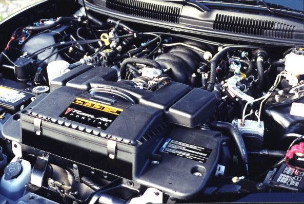 Engine Bay For A Ws6 Trans Am