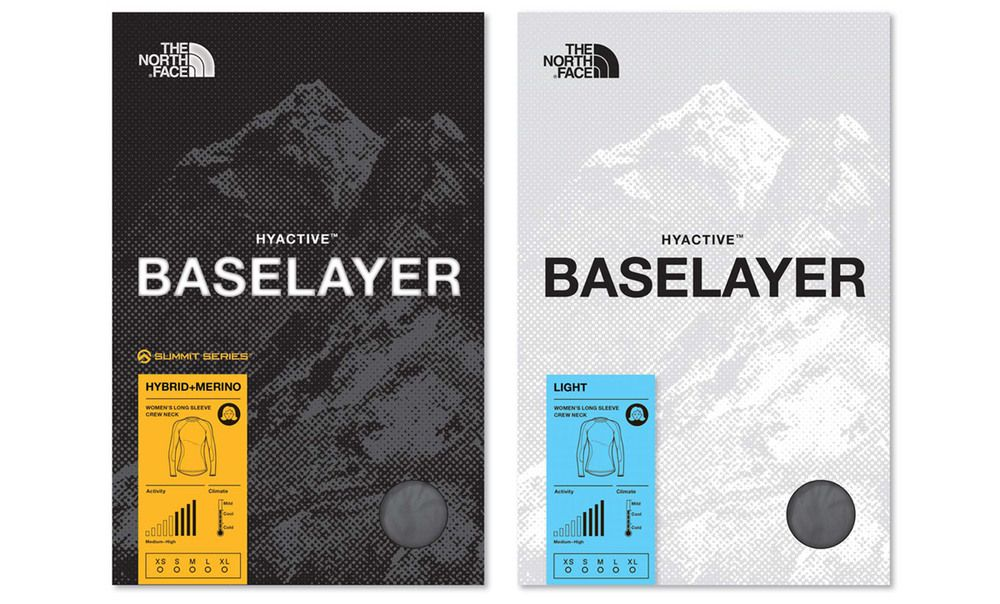 The North Face® Baselayer Packaging Concepts — katie heit
