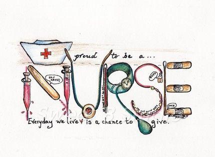 I love that I am a nurse.