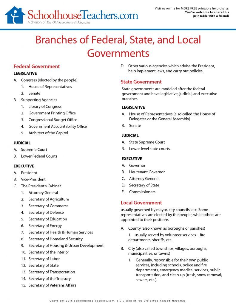 Free American History School Page Print-out Worksheets ...