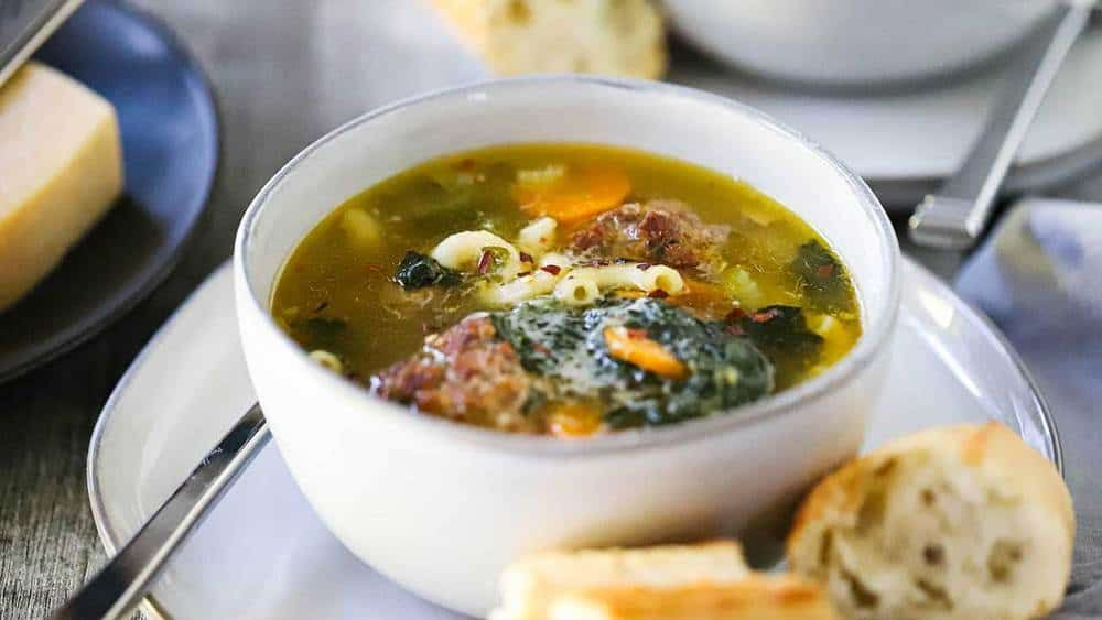 Italian Wedding Soup Recipe In 2020 Italian Wedding Soup Wedding Soup Authentic Recipes