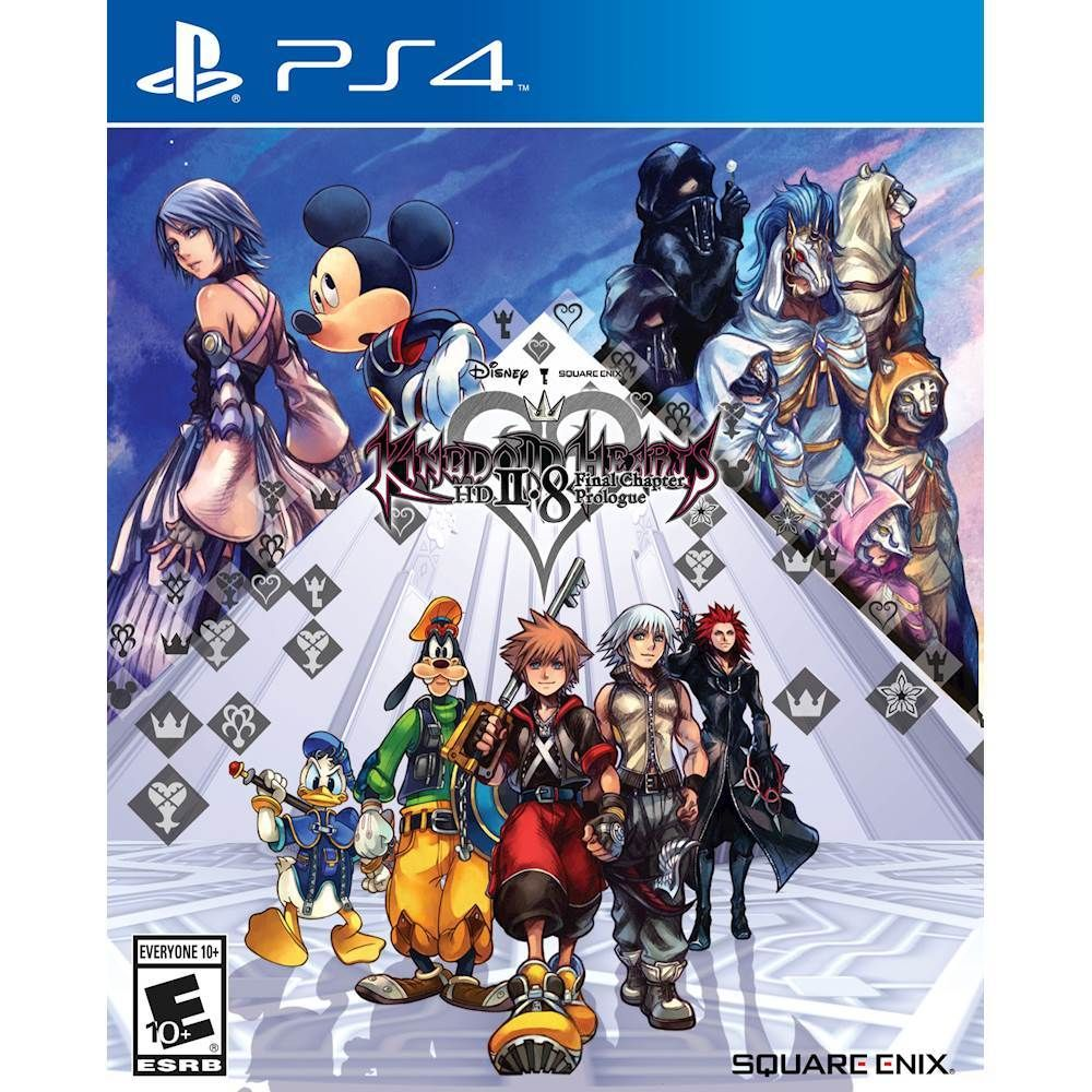 Kingdom Hearts Hd 2 8 Final Chapter Prologue Standard Edition Playstation 4 91778 Best Buy Kingdom Hearts Hd Kingdom Hearts Kingdom Hearts 3