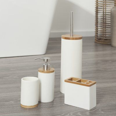 Project Tidy Bodie 5 Piece Bathroom Accessory Set Bathroom