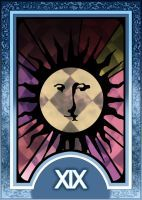 Persona 3/4 Tarot Card Deck HR - The Sun Arcana by Enetirnel