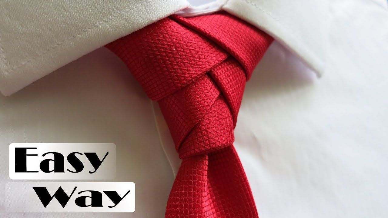 Eldredge knot step by step tutorial | How to tie a tie ...