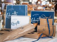 Lafayette | wrap in 2019 | Bakery packaging, Bakery branding